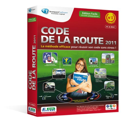 Code de la route - édition facile 2011 de Emme Avanquest