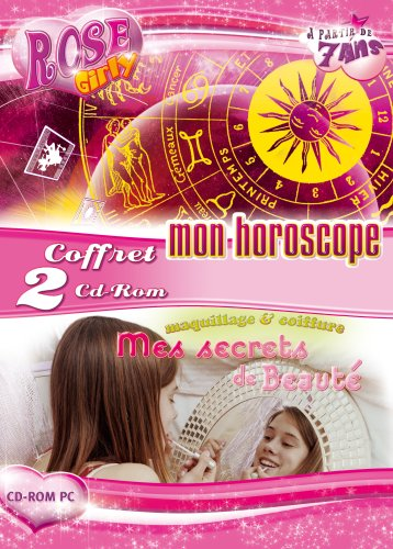 Rose Girly bi-pack (Mon horoscope & Mes secrets de Beauté) de Emme