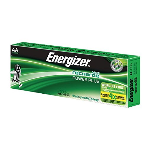 Energizer 2000MAh AA Rechargeable Battery (Pack of 10) de Energizer