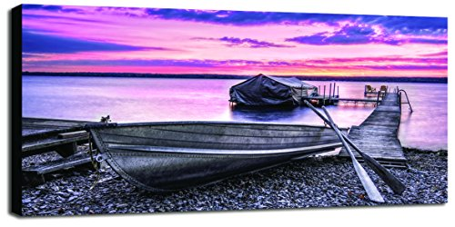 Engardo 40903 Canvas Pink Sunset, Multicolore, 100 x 2 x 10 cm de Engardo