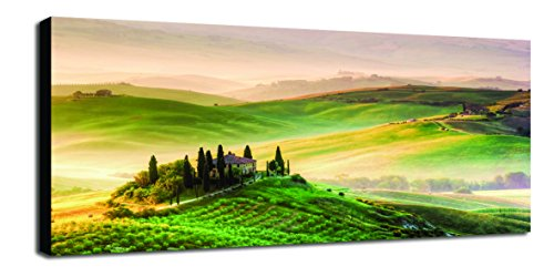 Engardo 40ze4 Canvas Colline Toscane, Multicolore, 100 x 2 x 10 cm de Engardo