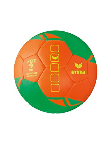 Erima 7200710 Ballon de Handball Mixte Adulte, Vert/Orange, Taille 2 de Erima