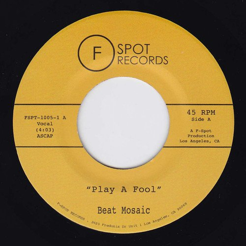 Play a Fool of Yuor Shape [Import USA] de F-Spot Records