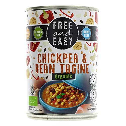 Free & Easy | Chick Pea & Bean Tagine | 1 x 400g de FREE - EASY