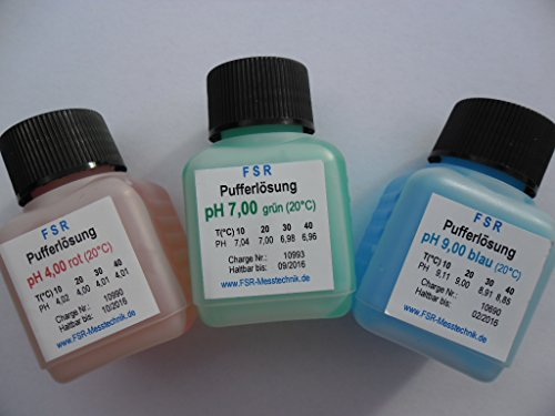 Solution ETALONNAGE PH 4 PH 7 PH 9 pufferlösung Solution repère Testeur de ph Testeur de FSR
