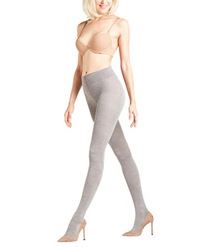 FALKE - Collants Femme 48425 - Gris (light grey mel. 3830) - FR : 38 (Taille fabricant : 36/38) de Falke