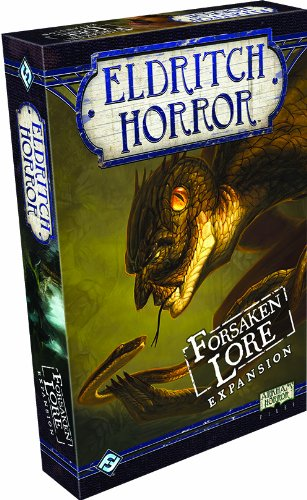 Eldritch Horror: Forsaken Lore Board Game Expansion de Fantasy Flight Games