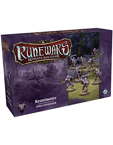 Fantasy Flight Games Ffgrwm12 Rune Wars Reanimates Expansion Pack Miniatures de Fantasy Flight Games