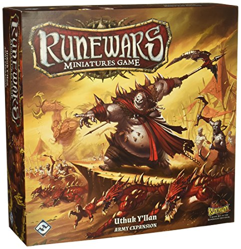 Fantasy Flight Games Runewars Miniatures Game: Uthuk Y'Llan Army Expansion Strategy de Fantasy Flight Games