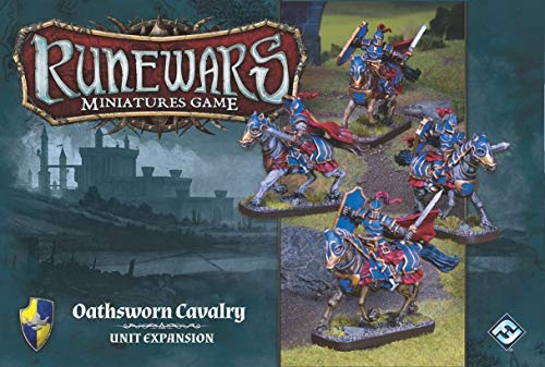 Fantasy Flight Games Ffgrwm03 Runewars Miniatures Jeu Oathsworn Cavalry Pack d'extension de Fantasy Flight Games