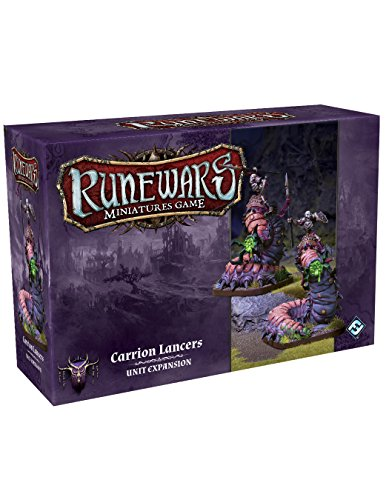 Fantasy Flight Games Ffgrwm09 Rune Wars Charogne Lanciers Expansion Pack Miniatures de Fantasy Flight Games