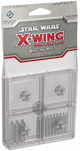 Fantasy Flight Games Star Wars: X-Wing - Clear Bases & Pegs de Fantasy Flight Games
