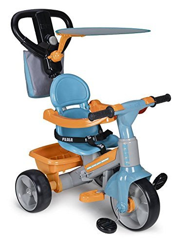 Feber - 800009614 - Tricycle - Trike Baby Plus 2 de Feber
