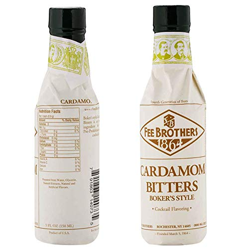 Fee Brothers - Bitters Bitters Cardamome de Fee Brothers