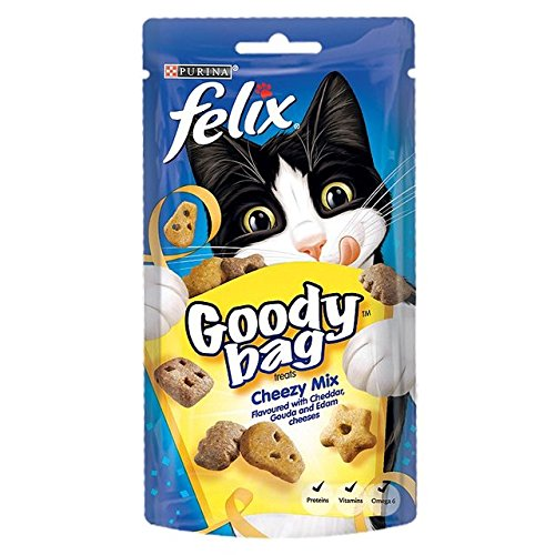 60g Felix Goody Bag Cheezy Mix de Felix