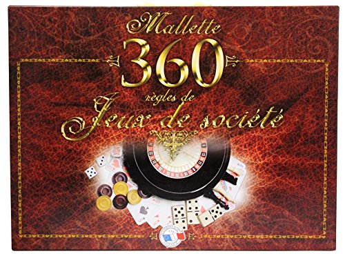 FERRIOT CRIC - 1580 - Mallette 360 jeux - - Marron de Ferriot Cric SA