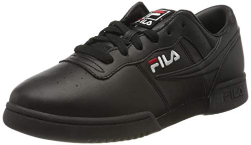 new concept 5fccb dcca2 Fila Original Fitness Schuhe 1VF80174-00, Baskets Homme, Schwarz (Black  1vf80174-