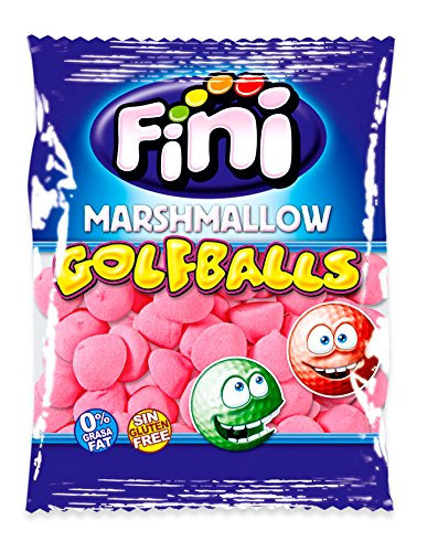 Fini Strawberry Golf Balls Chamallows 125 pieces de Fini