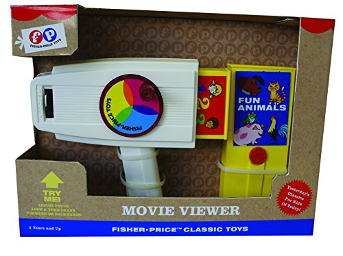 Fisher-Price Classic - Movkk01 - Réveil Éducatif - Diapo Visionneuse de Fisher-Price