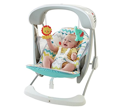Fisher-Price coloré Swing et assise de carnaval Deluxe de Fisher-Price