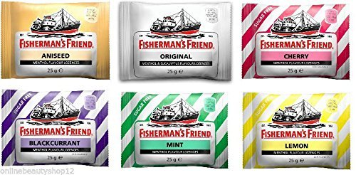 Fisherman's Friend Multi Pack - 6 Different Flavours by Fishermans Friend de Fishermans Friend