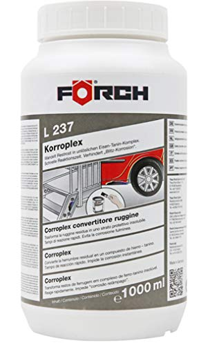 Foerch L237 Korroplex Convertisseur de rouille 1000ml avec temps de reacute action rapide de Foerch