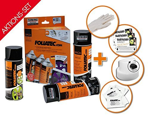 Foliatec 2315 Spray Film Set, Blue + Sealer Matt de Foliatec