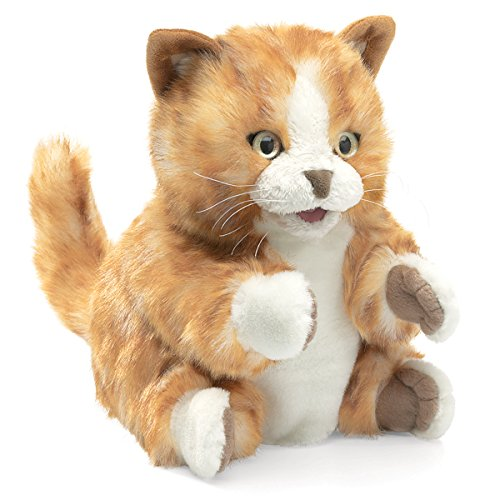 Orange Tabby Kitten Puppet de Folkmanis