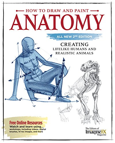 How to Draw and Paint Anatomy: Creating Lifelike Humans and Realistic Animals de Fox Chapel Publishing