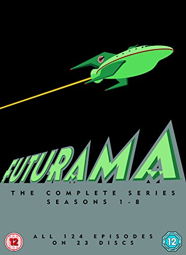 Futurama: Seasons 1-8 (5 Dvd) [Edizione: Regno Unito] [Import anglais] de Fox
