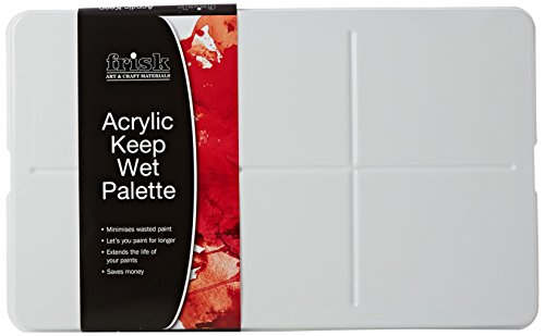 Frisk acrylique Keep-Wet Palette de Frisk