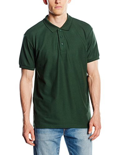 Fruit of the Loom Original, Polo Homme, Green (Forest Green), XXX-Large