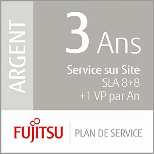 Fujitsu de Service Plan : Avant de 3 Ans ORT Service – Réaction 8 Heures + 8-Fix STD + 1 prà ventive Maintenance par an Mid Scanner de vol Production de Fujitsu