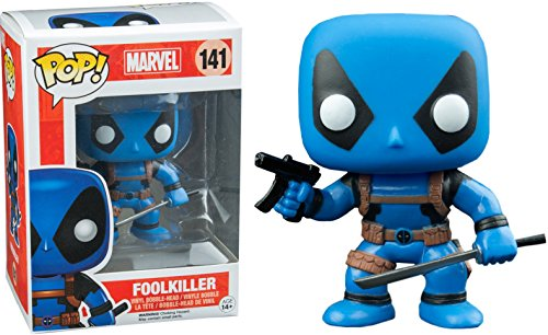 FunKo 9352 – Marvel Comics, Pop Vinyl Figure 141 Deadpool Rainbow Squad, Foolkiller de FunKo