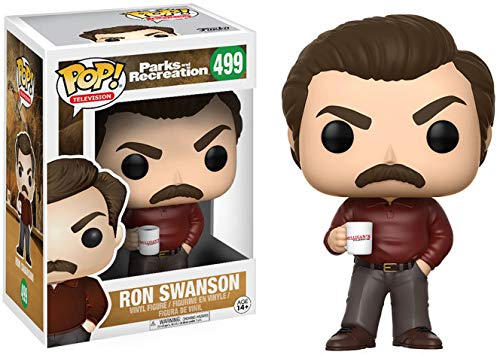 Funko Pop! Parks and Recreation - Ron Swanson Figurine de Parks And Recreation