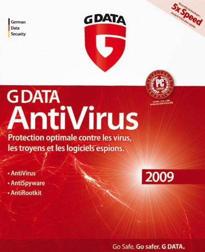 G data antivirus 2009 - 3 postes de G Data Software