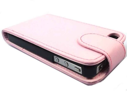 Better Quality Apple iPhone 6 Light Pink Flip Premium PU Leather Case Cover For Apple iPhone 6 by G4GADGET® de G4GADGET®
