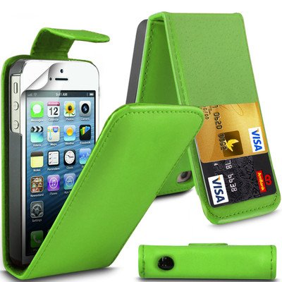 Better Quality Apple iPhone 6plus by Parrot Green Flip Premium PU Leather Case Cover For Apple iPhone 6plus by G4GADGET® de G4GADGET®