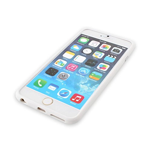 Better Quality Iphone 6 Silicon Bumper White by G4GADGET® de G4GADGET®