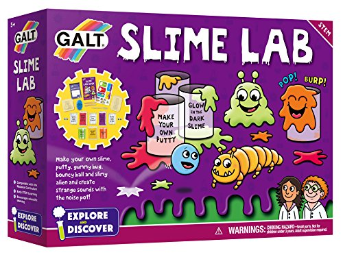 Galt Toys Slime Lab kit - Version Anglaise de Galt America