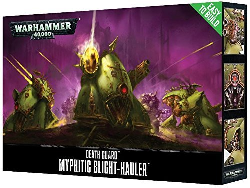 Games Workshop Jeux Atelier 99120102080 Etb Death Guard Myphitic Blight-Hauler Dessus de Table et de Jeux Miniature de Games Workshop