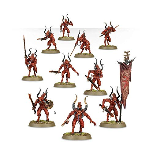 Games Workshop Jeux Atelier 99129915049 Daemons de Khorne Bloodletters Miniature de Games Workshop