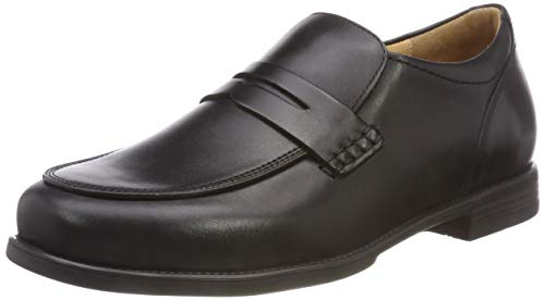 Ganter Greg-G, Mocassins Homme, Noir (0100), 39 EU de Ganter