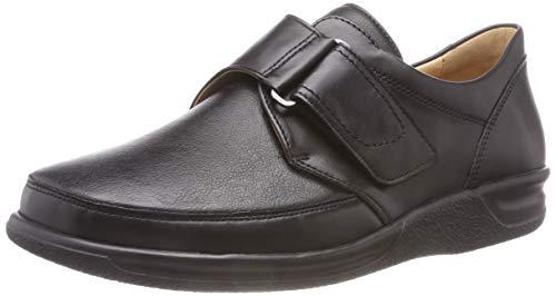 Ganter Sensitiv Kurt-K, Mocassins Homme, Noir (0100), 44.5 EU de Ganter