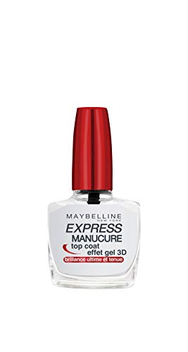 GEMEY MAYBELLINE Tenue et Strong Gel Top Coat de Gemey Maybelline