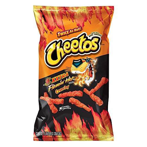 Cheetos XXTRA Flamin HOT Crunchy 8.5 oz (Pack of 3) de General Mills