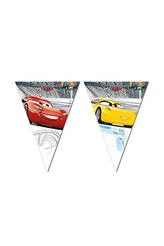 Qualatex 79711 Disney Cars 3 Triangle fête Drapeau Bannière de Qualatex