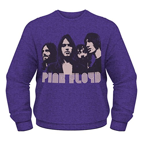 Générique Pink Floyd - Sweat-shirt Homme Retro Sweatshirts - Violet (Purple) - Medium de Générique