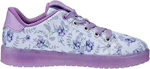 Geox Kommodor B, Sneakers Basses Fille, Violet (Lt Lilac/Lilac), 38 EU de Geox