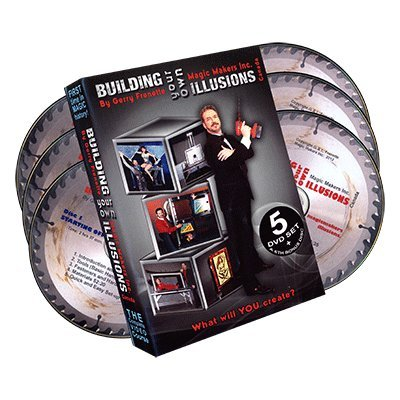 """Building Your Own Illusions, The Complete Video Course by Gerry Frenette (6 DVD Set)- DVD"" de Gerry Frenette"